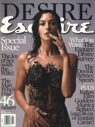 Cover for the February 2001 issue