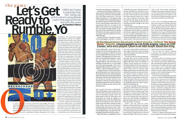 Article Preview: Let's Get Ready to Rumble, Yo, FEBRUARY 2001 2001 | Esquire