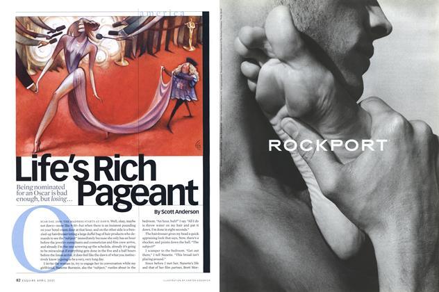 Article Preview: Life's Rich Pageant, April 2001 | Esquire