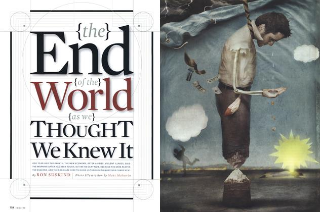 Article Preview: The End of the World as We Thought We Knew It, April 2001 | Esquire