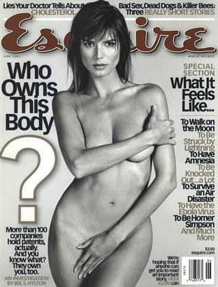 Cover for the June 2001 issue