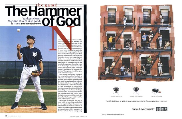 Article Preview: The Hammer of God, June 2001 | Esquire