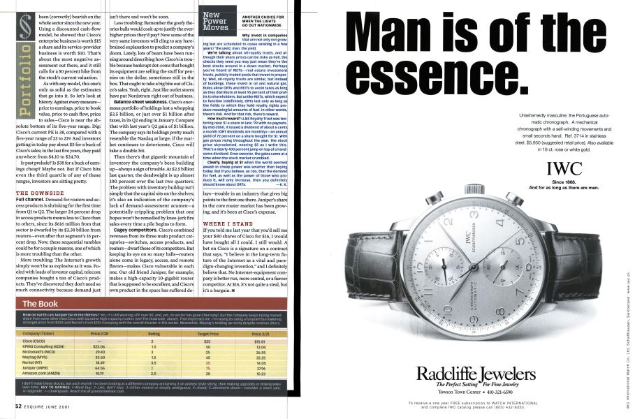 New Power Moves | Esquire | JUNE 2001