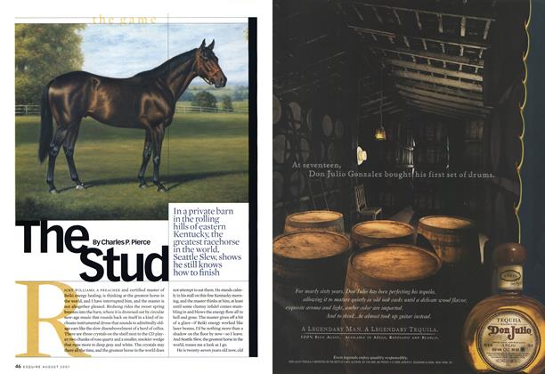 Article Preview: The Stud, AUGUST 2001 2001 | Esquire