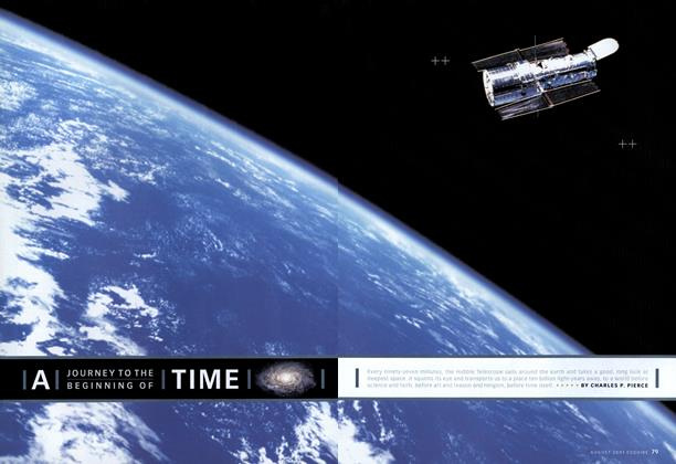 Article Preview: A Journey to the Beginning of Time, AUGUST 2001 2001 | Esquire