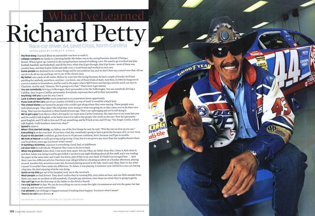 Article Preview: Richard Petty, AUGUST 2001 2001 | Esquire