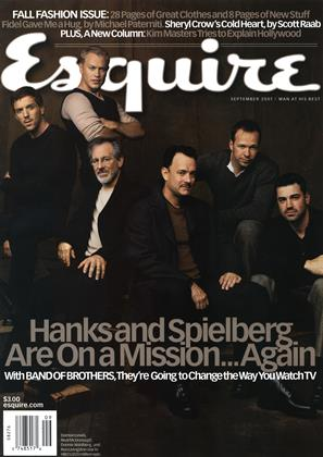 Cover for the September 2001 issue
