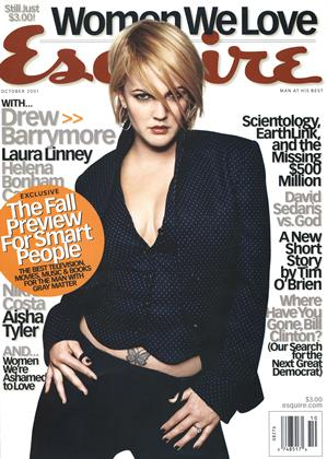 Cover for the October 2001 issue