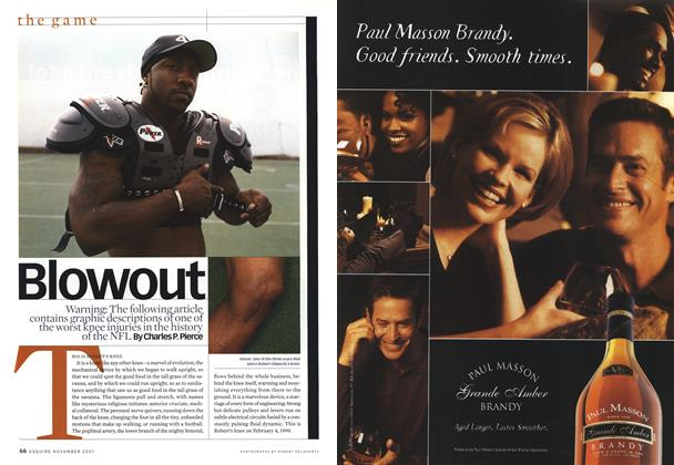 Article Preview: Blowout, NOVEMBER 2001 2001 | Esquire