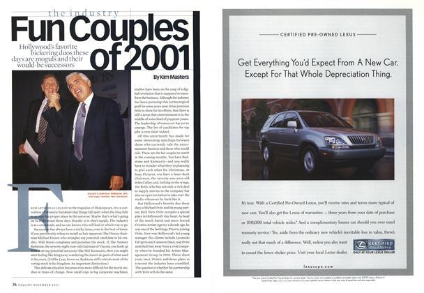 Fun Couples of 2001