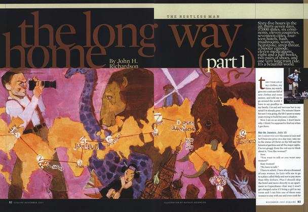 Article Preview: the long way home (part 1), NOVEMBER 2001 2001 | Esquire