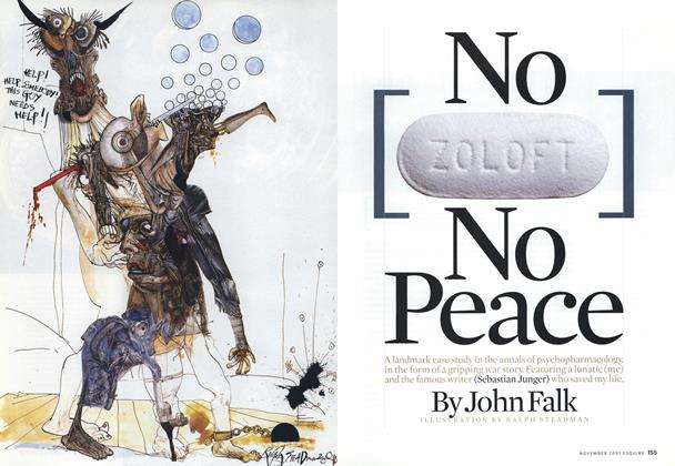 No Zoloft, No Peace