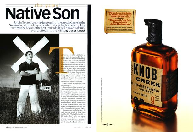 Article Preview: Native Son, December 2001 | Esquire