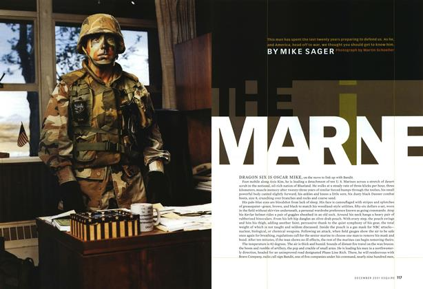 Article Preview: The Marine, December 2001 | Esquire