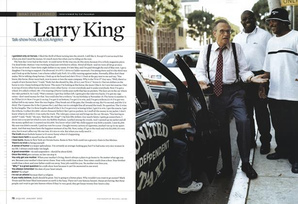 Article Preview: Larry King, January 2002 | Esquire
