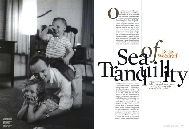Article Preview: Sea of Transquility, January 2002 | Esquire