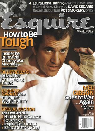 Cover for the February 2002 issue