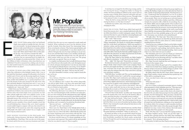 Article Preview: Mr. Popular, FEBRUARY 2002 2002 | Esquire