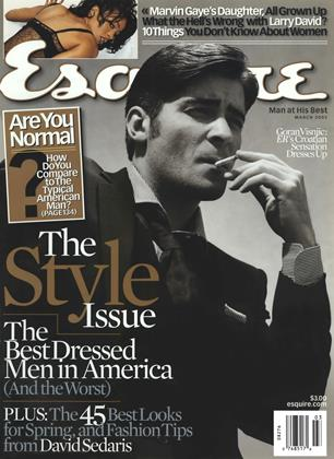 Cover for the March 2002 issue