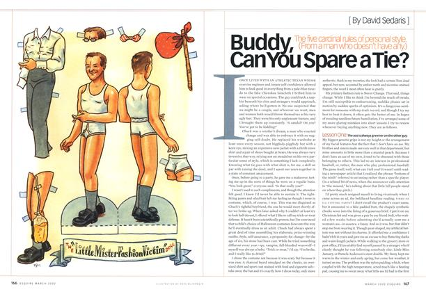 Article Preview: Buddy, Can You Spare a Tie?, March 2002 | Esquire