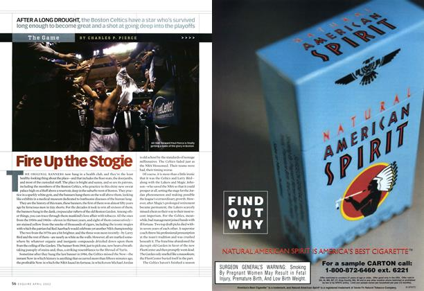 Article Preview: Fire Up the Stogie, April 2002 | Esquire