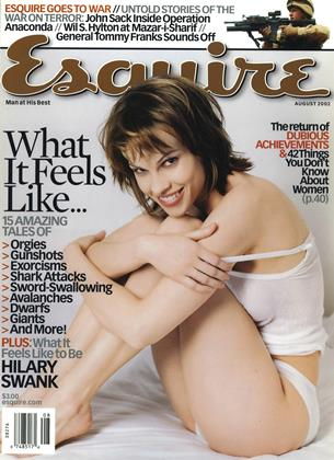 Cover for the August 2002 issue