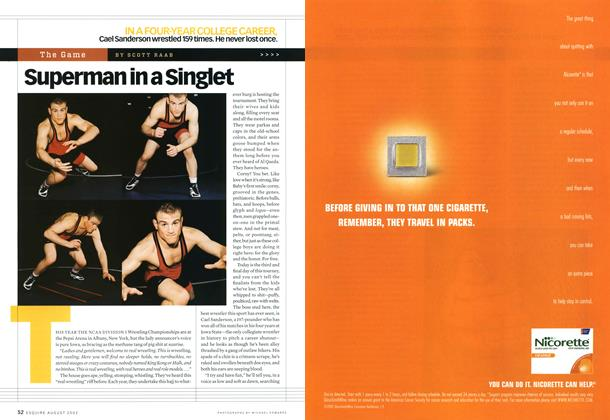Article Preview: Superman in a Singlet, August 2002 | Esquire