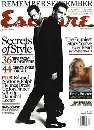 Cover for the September 2002 issue