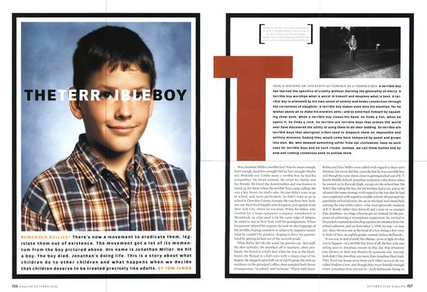Article Preview: The Terrible Boy, October 2002 | Esquire
