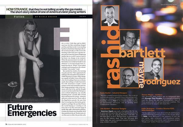 Article Preview: Future Emergencies, November 2002 | Esquire