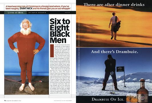 Six to Eight Black Men - December | Esquire