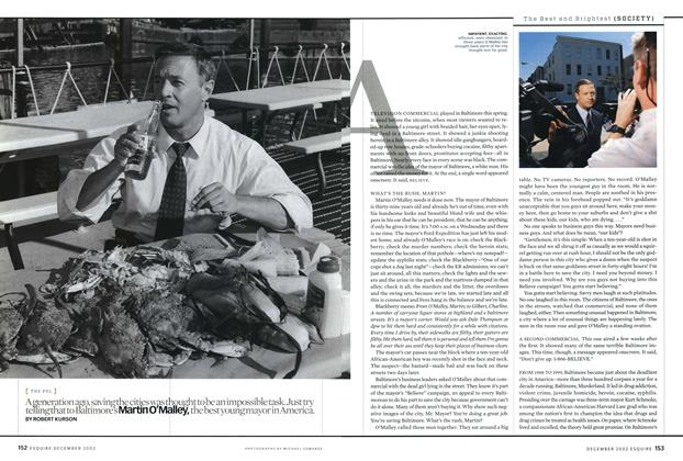 Article Preview: Martin O'Malley, December 2002 | Esquire