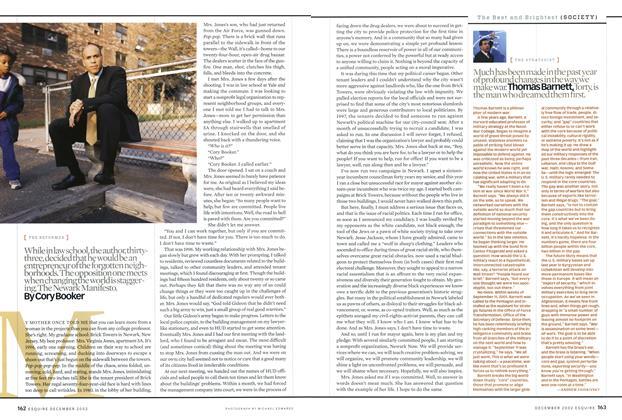 Article Preview: Thomas Barnett, December 2002 | Esquire