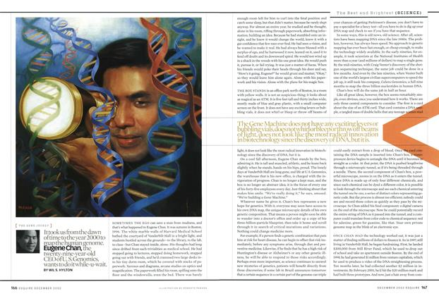 Article Preview: Eugene Chan, December 2002 | Esquire