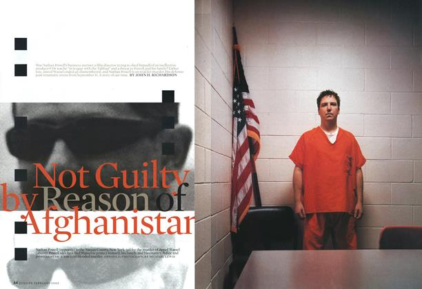 Not Guilty by Reason of Afghanistan
