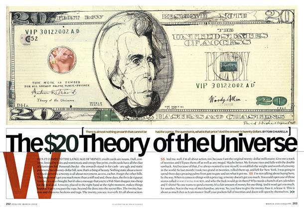 The $20 Theory of the Universe