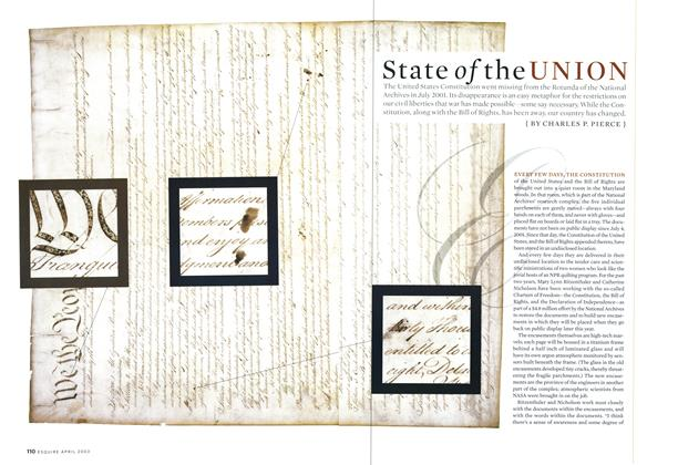 Article Preview: State of the Union, APRIL 2003 2003 | Esquire