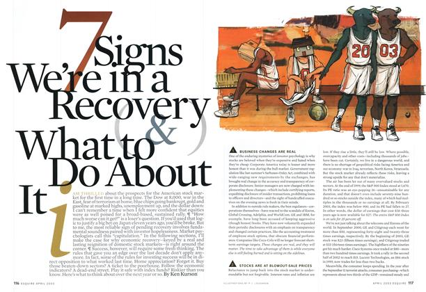 7 Signs We're in a Recovery and What To Do About it