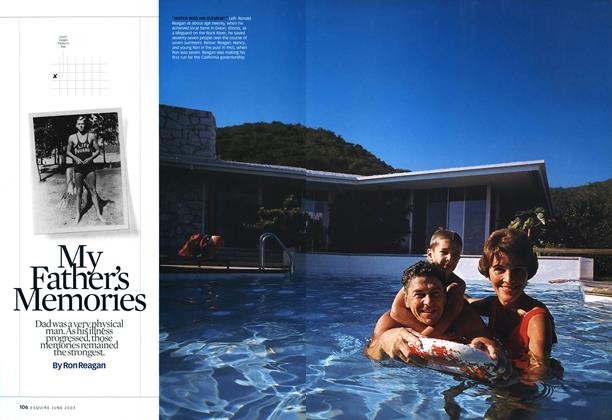 Article Preview: My Father's Memories, June 2003 | Esquire