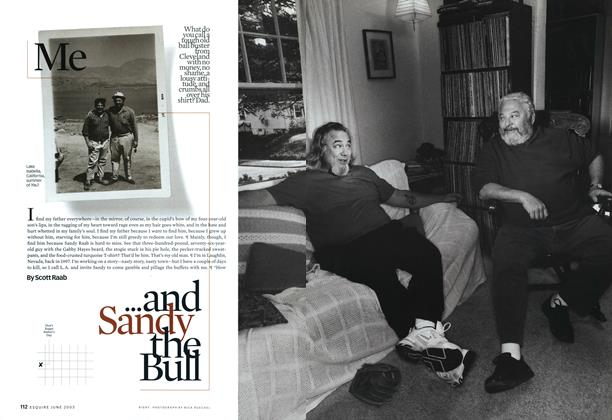 Article Preview: Me...and Sandy the Bull, JUNE 2003 2003 | Esquire