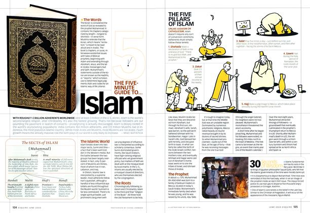Article Preview: The Five Minute Guide: Islam, June 2003   Esquire