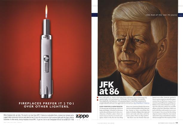 Article Preview: JFK at 86, October 2003 2003 | Esquire