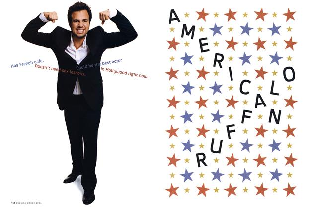 Article Preview: American Ruffalo, March 2004 2004 | Esquire