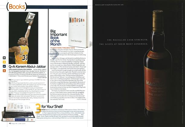 Article Preview: Big Important Book of the Month, June 2004 | Esquire