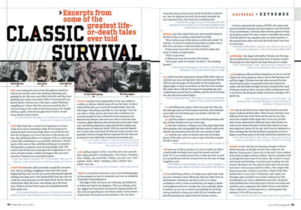 Article Preview: Classic Survival, July 2004 2004 | Esquire