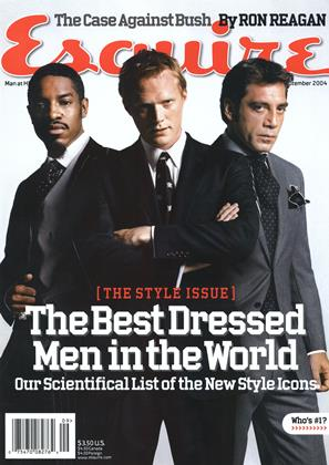 Cover for the September 2004 issue