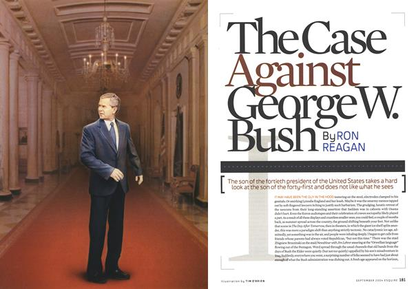 Article Preview: The Case Against George W. Bush, September 2004   Esquire