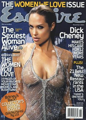 Cover for the November 2004 issue