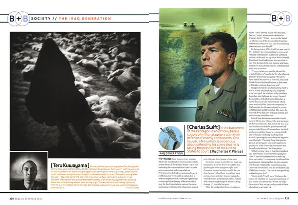 Article Preview: Charles Swift, December 2004 | Esquire
