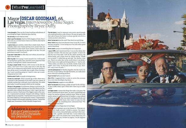 Article Preview: Mayor (oscar Goodman), 65, Las Vegas., January 2005 | Esquire